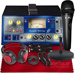 Focusrite ISA ONE - 麦克风前置放大器套装带麦克风+耳机+专业音频线包