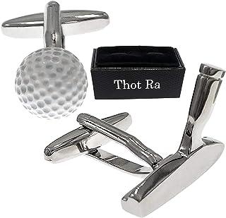 Thot Ra 高尔夫球和推杆袖扣 男式 Mod A 889