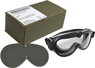 正品美国* GI 太阳、风和灰尘 SWDG *护目镜 - 黑色含 2 个镜片(美国制造)