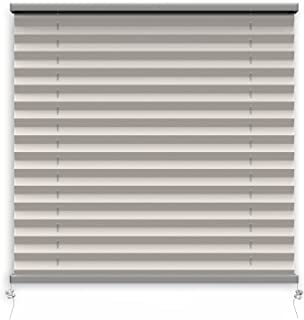 Forge RV,RV 百叶窗灰色 66.04 厘米宽 x 60.96 厘米长,露营百叶窗,房车窗帘,露营窗房车百叶窗