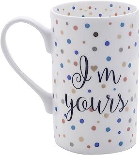 Mikasa 骨瓷咖啡杯 Confetti I'm Yours 16盎司 5203340