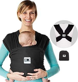 Baby K'tan轻柔婴儿背带 黑色 X-S