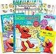 Sesame Street Elmo 婴儿马桶训练书*套装 - 包括进度图、海报、*励贴纸和附加的芝麻故事书(ABC、颜色、节奏、卧室)