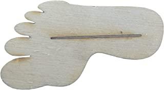 Petra's Bastel News 手工套装 10 x 桌卡夹 脚,木制,7