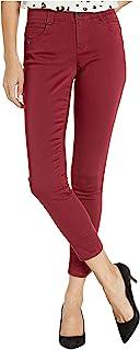 Democracy 女式 Ab Solution 及踝斜纹长裤