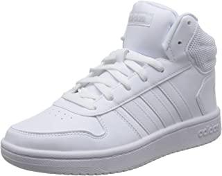 adidas NEO 阿迪达斯运动生活 女 休闲篮球鞋 HOOPS 2.0 MID