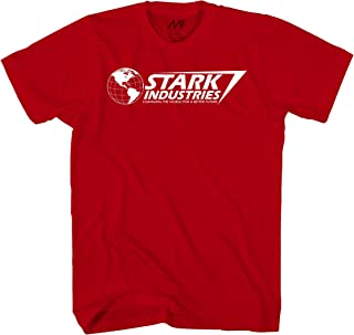 Marvel 钢铁侠 Stark Industries T 恤