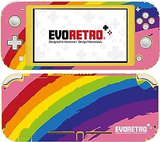 EVORETRO Nintendo Switch Lite 手机壳 - 3M 乙烯基全包 Nintendo Switch Lite 手机壳,开关配件 - 彩虹