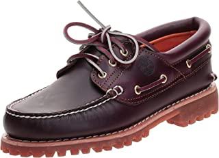 Timberland 3-Eye Lug 男式经典三眼船型鞋 莫卡辛鞋