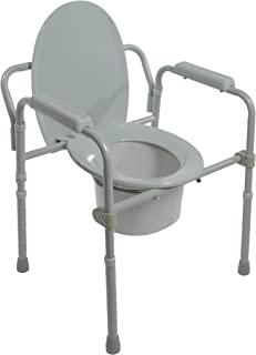 PCP 漫画,美国制造,过厕所,床边*框架,提升可调节风格,适合老年人,*,康复,*,家庭护理,辅助生活