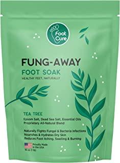 Foot Cure 茶树油软垫 含EPSOM 盐 -适用于趾甲、顽固气味、软化老茧 &amp; 舒缓脚部<i class=chrome-extension-mutihighlight chrome-extension-mutihighligh...