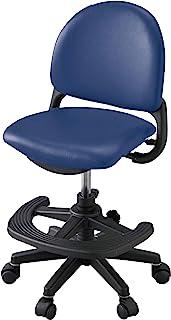 小泉成器 学习椅 藏青色 W52×D45~54.5×H78.5~89.5cm SH43.5~54.5cm(外部尺寸) *佳舒适椅子 藏青色 CDY-665BKNB