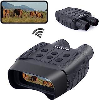 LUXUN 数字夜视双筒望远镜,带 WiFi 实现完全黑暗,夜视可以拍摄高清图像和视频数字 - 990 英尺红外线,用于狩猎、旅游、露营