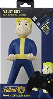 Exquisite Gaming Fallout 76 电缆家具,8 英寸(约20.32厘米)手机和控制器支架   保险箱男孩