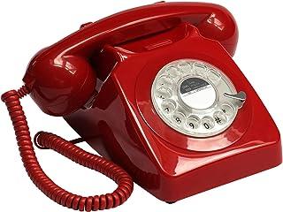 GPO 746 旋转电话746 红色