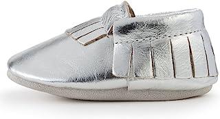 BirdRock 婴儿软帮鞋 - 30 多种款式,适合男孩和女孩! 每双婴儿喂食