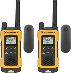 Motorola Talkabout T402 可充电双向收音机(2 只装)