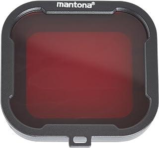 Mantona 21280 过滤器套装(适用于 GoPro Hero 4/3+ 过滤器灰色,红色,黄色,洋红色高品质水下过滤器)4 种颜色