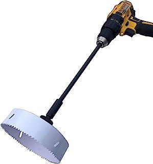 Keyfit Tools 电动洒水器头修剪器 15.24 cm 直径,几秒钟内即可修剪转子和喷雾头! 适用于过度开发的洒水器和清洁外观调整替换和升高钻配件