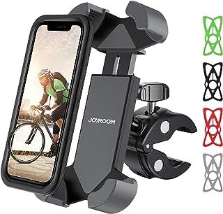 joyroom 自行车手机支架双环手机支架适用于 OtterBox 和厚壳通用车把支架山地自行车ATV兼容 iPhone 6/7/11/XR XS MAX