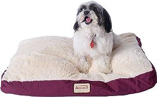 ARMARKAT 艾玛凯酒红帆布加米白棉柔舒适保暖猫狗垫子(适合2只猫咪或小型犬)M02HJH/MB-M