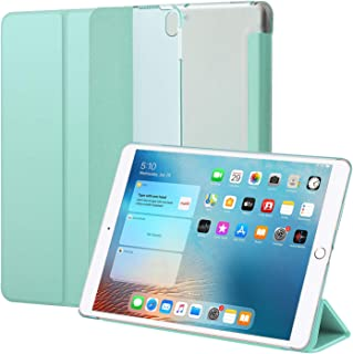IPad Air * 3 代 2019 / iPad Pro 10.5 英寸 2017 保护套,超薄轻质立式智能保护套,带半透明磨砂后盖,适用于 Apple iPad Air(* 3 代)2019