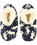 LazyOne Women's Fuzzy Feet Slipper Socks