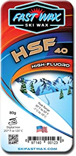 快速蜡 - 高速碳氟滑雪蜡 - 纯石蜡,高氟蜡条 - 美国制造