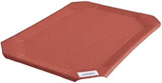 Coolaroo Elevated Pet Bed Replacement Cover Large Terra Cotta