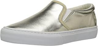 Polo Ralph Lauren 儿童 Carlee Twin Gore 金色金属乐福鞋