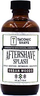 Taconic 剃须后水泥 4 盎司(约 113.4 克) - 都市木质 - 皮肤冷却、清爽和保湿剃须后液体*,含*成分 - 美国工匠制造