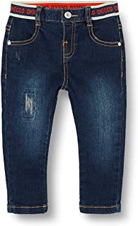 Chicco Baby-Jungen Pantaloni Lunghi 牛仔裤