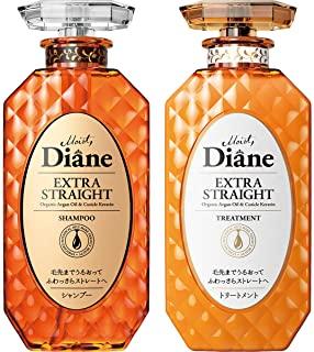 Moist Diane 黛丝恩 Prefect Beauty Extra Straight 洗发水&护发素套装 450ml×2
