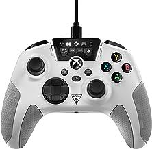 Turtle Beach 海龟海滩侦察有线游戏控制器,增强音频功能 - 白色 - Xbox 系列 X