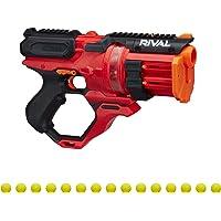 Nerf Rival Roundhouse XX-1500 红色玩具枪 -- 透明旋转室可弹入弹筒 -- 5 本综合杂志…