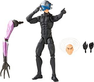 Hasbro 孩之宝 Marvel 漫威传奇系列 X-Men 6 英寸(约15.24厘米)收藏版查尔斯·泽维尔可动公仔玩具,高级设计和 3 个配件,适合 4 岁及以上的儿童