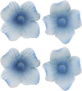 Global Sugar Art Hydrangea Blossom Sugar 蛋糕花白色/蓝色,无钢圈,36 支 Chef Alan Tetreault