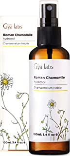 罗马洋甘菊喷雾面部爽肤水– 芳香 hydrosol 适用于脸部 & 身体–100ml–gya Labs
