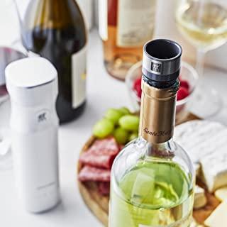 """Zwilling 双立人 \\\""""Fresh & 水巾 葡萄酒密封器 3 件套 \\\"""" 真空 保存 氧化 葡萄酒 封闭式 【日本正规销售商品】Fresh & Save 36802-003"""