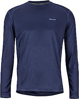 Marmot 土拨鼠 男士 Windridge Ls 长袖T恤,功能T恤,速干,透气