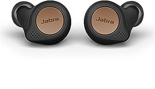 Jabra 捷波朗 Elite Active 75t True 无线蓝牙耳塞,铜黑色 – 无线耳塞,适用于跑步和运动,包括充电盒, 24小时电池,主动降噪运动耳塞