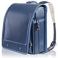 Randoseru 日本小学生书包,男童和女童背包(新蓝色)