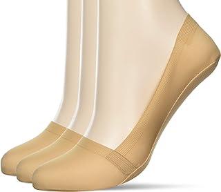 [GUNZE 郡是] Tuche 船袜 「亲肤无硅」 深口 尼龙 同色3双装 女士 TQM526