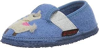 GIESSWEIN 家居鞋 Tonndorf - 封闭式儿童家居鞋,毛毡材质 | 女士拖鞋 | 防滑橡胶鞋底 | 毛毡拖鞋