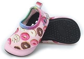 B-chen 婴儿水鞋赤脚游泳鞋速干防滑水袜适合室内户外沙滩游泳 适合幼儿男孩女孩