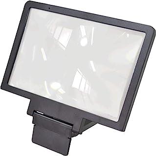 DDL 智能手机放大镜头 套装 智能手机支架 相当于约7.8英寸(约3.6厘米) 黑色