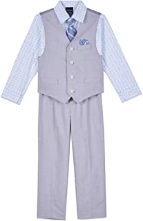 Nautica Boys' Shadow Stripe Vest Set