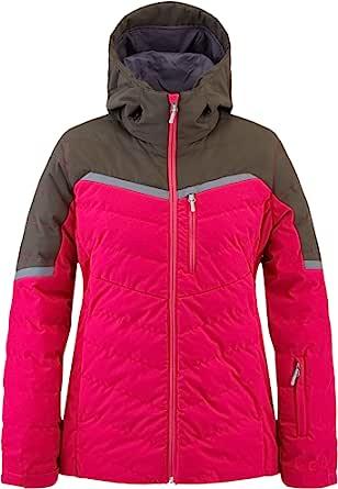 Spyder Active Sports 女式 Brisk 合成隔热滑雪夹克