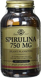 Solgar Spirulina 片,750 毫克,100 片