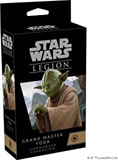 Fantasy Flight Games   Star Wars 军团:大师 尤达指挥官扩展   微型游戏   适合 14 岁及以上儿童   2 名玩家   1-2 小时游戏时间